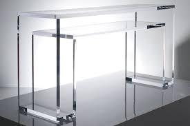 Console Table Design Cool Transparent Lucite Console Tables Lucite
