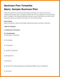 7 Business Plan Layout Pdf Janitor Resume Sample Free Cmerge