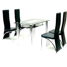 glass table for 6 dining tablesglass table and 6 chairs black room sets glass table