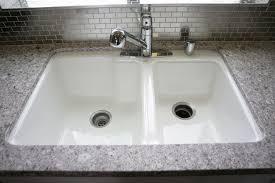 sinks stunning cast iron undermount kitchen sink cast iron