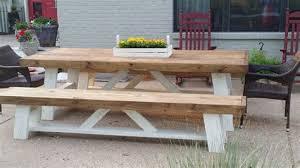 diy outdoor farmhouse table. Outdoor Farm Table Shanty 2 Chic Diy Farmhouse