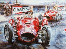 vintage cars and racing scene automotive art of vaclav zapadlik vintage car racing scene vintage car art paintings wallpaper 8