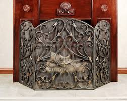 interior decorative fireplace screens wrought iron photo classic nice 10 decorative fireplace screens