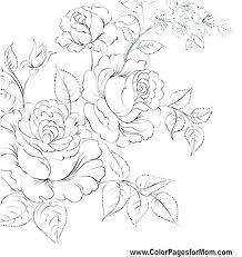 Flowers Color Pages Y Flower Coloring Pages Cute Color Flowers Sheet