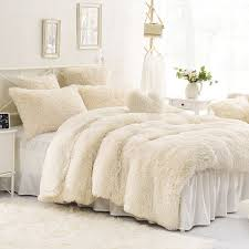 white velvet duvet cover