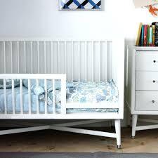 dwell studio bedding mid century toddler rail in french white dwellstudio fez sheet set dwell studio bedding