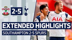 Download the perfect spurs pictures. Extended Highlights Southampton 2 5 Spurs Sonny And Kane Link Up Four Times At St Mary S Youtube