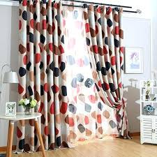 red curtains for bedroom short red curtains and pebbles printed curtains blackout curtains for living room red curtains for bedroom