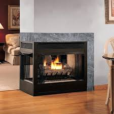 smlf contemporary vent free gas fireplace insert natural awe modern home decoration style