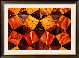 2018 salvador dali paintings for cinquenta tiger real abstract art home decor high quality handmade from cherry02016 96 44 dhgate com