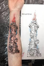 спб ростральные колонны фото татуировок