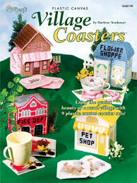 Free Plastic Canvas Patterns To Print Classy Plastic Canvas Patterns OutofPrint Patterns Village Coasters
