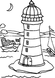 Small Picture Two Boat Passing Lighthouse by Coloring Pages Two Boat Passing
