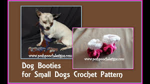 Dog Booties Pattern Awesome Inspiration
