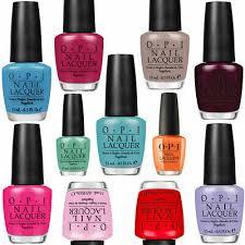 Opi Nail Polish Colours Bright Varnish Nails Top Coat