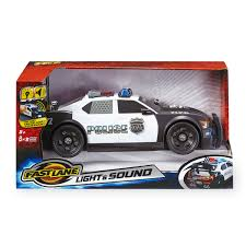 Fast Lane Light And Sound Police Motorcycle