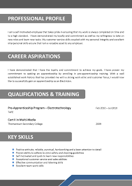 Electrician Skills For Resume Free Resumes Tips