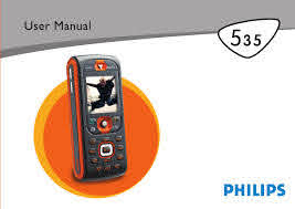 Philips Cell Phone 535 User Guide ...