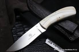 Купить Нескладной <b>нож Fish</b> Eagle, клык бородавочника 80 мм ...
