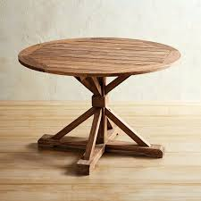 natural wood round dining table natural wood dining table canada