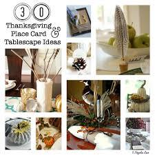 30 thanksgiving tablescape place card ideas 11 magnolia lane