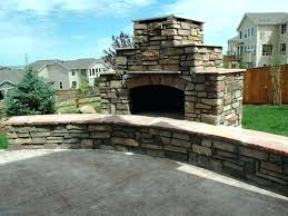 how to build an outdoor stone fireplace stacked stone fireplace cost excellent cost to build outdoor
