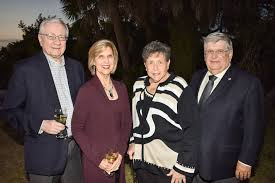 Selby top donors learn about upcoming Warhol exhibit - Dr. John and Myrna  Welch with Judith Zuckerberg and George Kolet | Your Observer