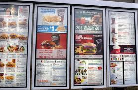 mcdonalds drive thru menu 2014. Wonderful Drive Photo Of McDonaldu0027s  Portland OR United States Menu Board At The Drive To Mcdonalds Drive Thru 2014