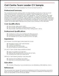 Sample Resume For Team Leader In Bpo Best of Resume For Team Leader Position Cv Format For Team Leader Position