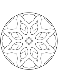 Kleurplaat Mandala Kleurplaten 5098 Kleurplaten