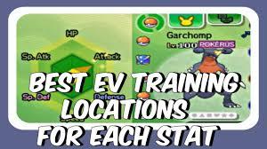 Best Ev Training Locations Pokemon Sun And Moon