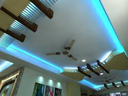 latest lighting. False Ceiling Lighting With Fan And Modern Design For Hall Also Latest U