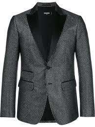 Patterned Tuxedo Unique Dsquared48 Patterned Tuxedo Jacket Farfetch