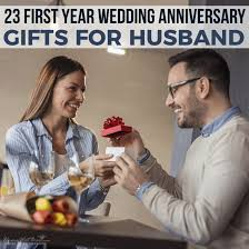 year wedding anniversary gifts for husband