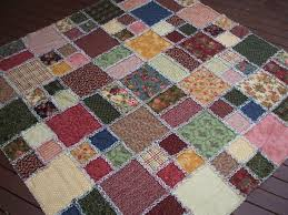 33 best Rag Quilts images on Pinterest | Free pattern, Bed linen ... & Free Rag Quilt Patterns | This was fun to make, but wow, cutting into Adamdwight.com