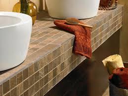 bathrooms mosaic bathroom countertops tile diy marble countertop white tiled pictures mosaic bathroom countertops tile