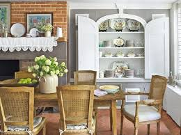 Country dining room ideas Pinterest Country Decorating Ideas Dining Room Country Living Magazine Tour This New York City Country Chic Home Townhouse Country