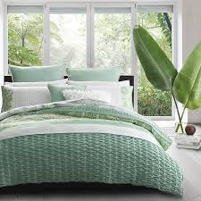 willow green quilt cover set by logan and mason platinum