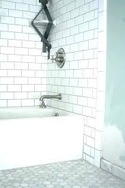 simple what color grout to use with white subway tile for gray grey beige carrara marble