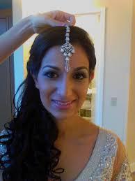 baltimore airbrush indian wedding makeup