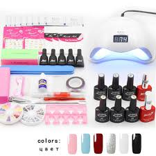 Complete Manicure Gel Nail Art Set