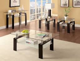 gorgeous glass living room table set and popular of glass coffee table set glass modern coffee table sets