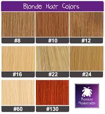 Human Hair Packs Blonde Colors