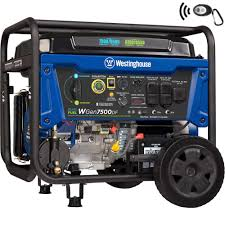 Westinghouse 9 500 7 500 Watt Dual Fuel Gasoline Or Propane Powered Portable Generator With Remote Start