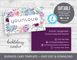 Younique Gift Certificate Template Younique Business Cards Template Younique Cosmetics 35x2