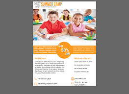 tri fold school brochure template free education flyer templates elegant play school brochure