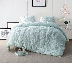 Best 25+ Twin xl bedding ideas on Pinterest | Twin bed comforter ... & Hint of Mint Pin Tuck Twin XL Comforter Adamdwight.com