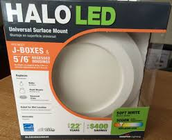 halo led recessed lights package design