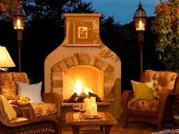 patio ideas built your own outdoor fireplace with the fancy style that can satisfy you