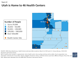figure 12 utah is home to 46 health centers